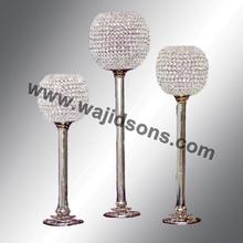 Wholesale Candle Holders Wedding and crystal candle holder for decoration