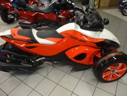 Promotional Sales On 2015 CAN-AM SPYDER RS-S SPECIAL SERIES 5-SPEED SEMI-AUTOMATIC (SE5)