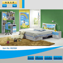 good for health kids bed furniture 9925B