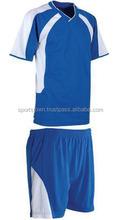 2015 men's new model football jersey , wholesale 100% polyester soccer uniform 4 men