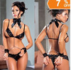 Lingerie Women Lace Underwear Black in pakistan