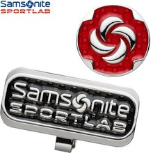 Samsonite clip coin marker set SNMK-101 golf accessory with dedicated case