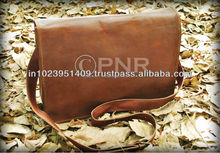 HandMade Vintage Leather Messenger Bags Cross Body Bag