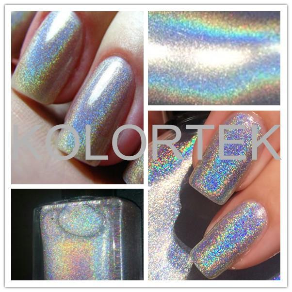 Unicornio polvo holográfico para esmalte de uñas maquillaje de belleza