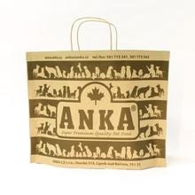 MEDIUM brown - innovative eco paper carrier bag