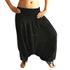 Aladdin Plain Black harem pant - Indian Harem pant - Wholesale Plain Black yoga Harem Pants - Baggy Harem Pant -Beach wear Pant