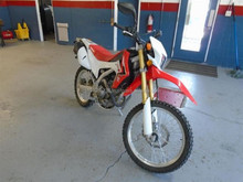 USED MOTOR BIKES - HONDA CRF250 SEMI-TRAIL (10013 PETROL)