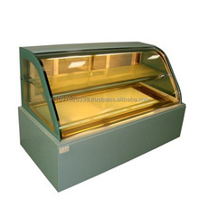 Hot Selling Commercial Display Cake Refrigerator Showcase with Different Sizes