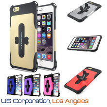 "Zeroshock Hybrid Protective Though Hard Armor Shockproof Case with Kickstand Case for iPhone 6 4.7"" USA, Los Angeles Wholesale"
