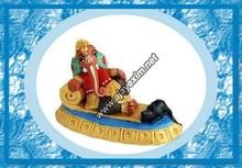 artigianato indiano ganesh religioso statua