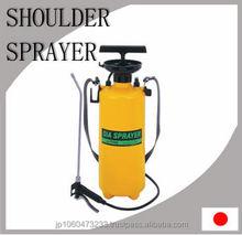 Lightweight shoulder mounted hand sprayer made in Japan