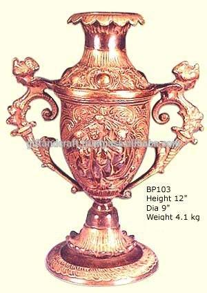 planta de plástico vasos de bronze para a venda