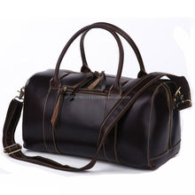 Hand Crafted Custom Made Genuiner Leather Travel Bag