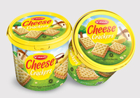 Soft Crackers Cheese 400 gr