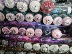 polyester discharge printing fabric YORYU CHIFFON 100% polyester KOREA PRINTED FABRIC STOCK