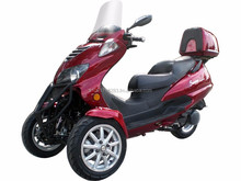 EPA&DOT APPROVED Sunny 150cc Three-Wheel Trike Scooter-Two Front Wheels!Free Trunk...