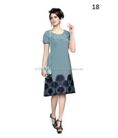 Lucknow Chikan Embroidered Kurti