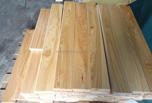25x90xRL white ash solid flooring natural UV white ash color