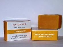 SHEA BUTTER LEMONGRASS SOAP- 100% NATURAL AND HANDMADE