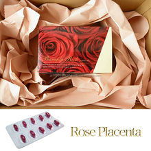 High quality damask rose placenta natural health supplements made in Japan