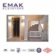 home elevator,cheap home lift usage , glass cabin