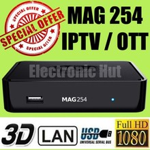Best Appreciated MAG 254 IPTV OTT Set Top Box Internet TV STB Receiver Updated Mag 250 Mag254 box