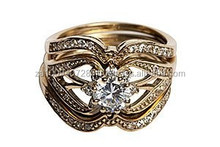 Women's 10k Gold Wedding Ring