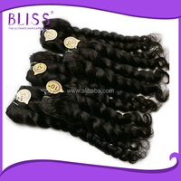 indian remy virgin hair half wig,remy curly pre bonded hair extension