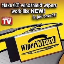 Wiper Wizard Windshield Wiper Blade Restorer - Renew Old to New