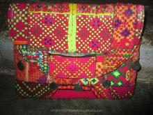 Discount price Handmade Vintage Banjara Bag Tribal Ethnic Gypsy Hippie Boho multi color embroidery purse /clutch bag