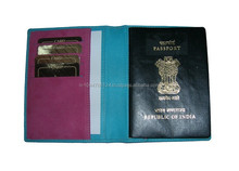 Custom PU Leather Passport Case / Fancy Highly Embossed PU Leather Passport Case / Faux Leather Passport Case