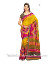 Latest Fashionable Silk Sarees For Women