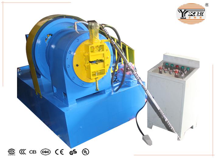 the pipe designing machine