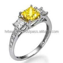 GIA-IGI Certified Diamond Ring, 14k/18k gold designer ring at cheapest price. Diamond jewellery in surat India.