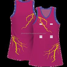 customized Netball dress 2014
