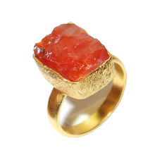 ROCK STYLE FASHION RINGS HANDMADE 18K GOLD PLATED HANDMADE WHOLESALE COMPANY - RBR979