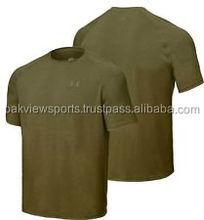Under Armour Men's Tactical Heat Gear Tech T Shirt SWAT OLIVE GREEN