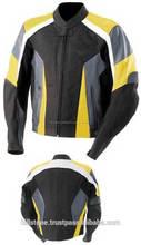 Para hombre de cuero de la moto chaquetas