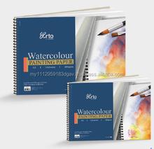 Pad - Wire-O Watercolour Book (100% Cellulose Cold Pressed)