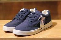 Autumn & Spring men's lace-up shoes canvas shoes Casual sport sneakers Casual sport sneakers Navy