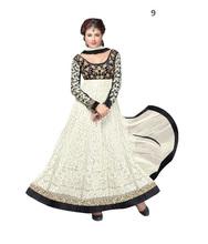 Negro& color blanco trajes de combinación/los últimos diseños de vestir para damas
