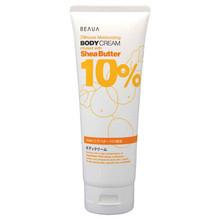 BEAUA Body Cream Shea Butter 10% 230g Shea Butter Wholesale Made in Japan