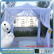 portable pipe and drape trade show booth