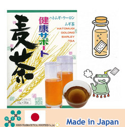Eucommia leave tea, Green tea, Barley tea paper bag/Extract in hot or cool water