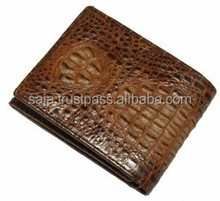 Crocodile leather wallet for men SMCRW-031