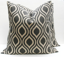 outdoor furniture 100% printed cotton material cushions