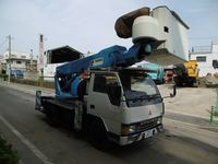 <SOLD OUT> Used Aichi Tadano AT-141TE Truck Mounted Lift For Electric Construction