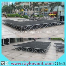 ONLY 49.90USD Portable stage platform,quick stage equipment,used portable stage for sale