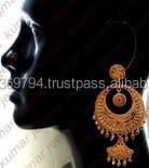 Antique Gold Designer Earring