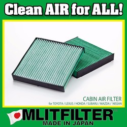 Various types of high quality & performance car air filter for mazda parts